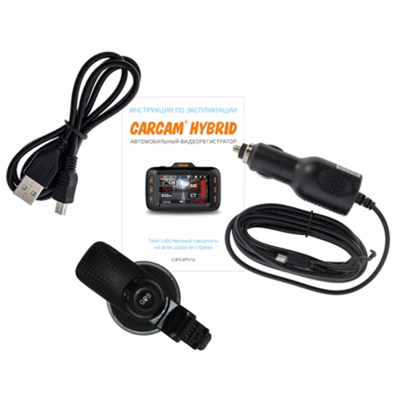 Комбо-устройство CarCam Hybrid